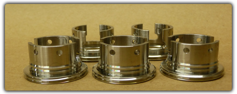 Piston style parts